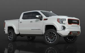 GMC Sierra AT4 Crew Cab Harley-Davidson Edition (Summit White) 2020 года